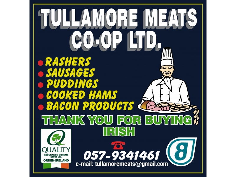 Tullamore corriboard Signs